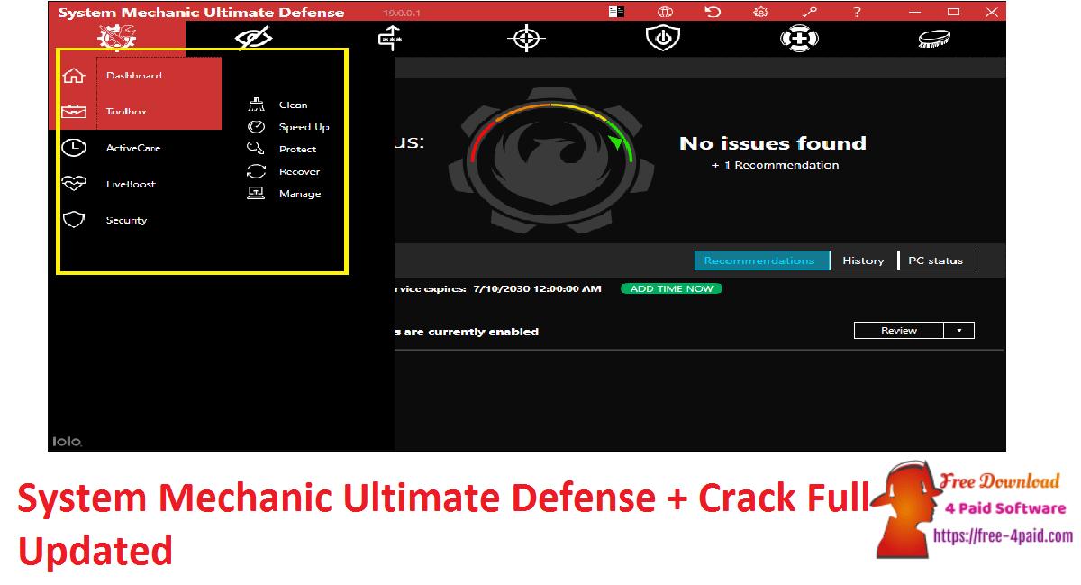 System Mechanic Ultimate Defense + Crack Full Updated