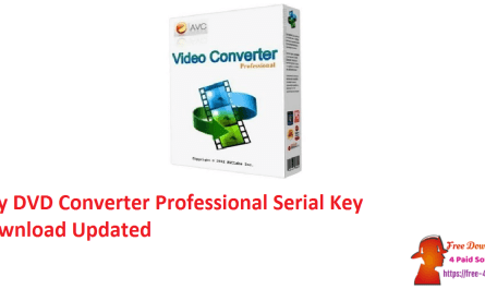 Any DVD Converter Professional Serial Key Download Updated