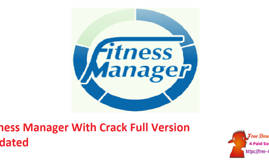 Fitness Manager 10.5.0.2 With Crack Full Version [Updated]