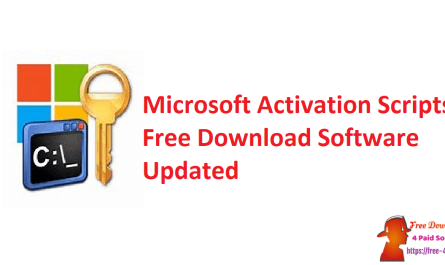 Microsoft Activation Scripts Free Download Software Updated