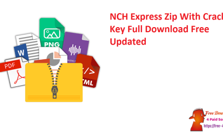 NCH Express Zip With Crack + Key Full Download Free Updated