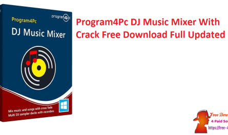 Program4Pc DJ Music Mixer With Crack Free Download Full Updated