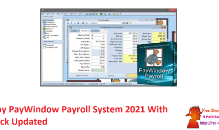 Zpay PayWindow Payroll System 2021 With Crack Updated