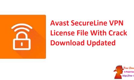 Avast SecureLine VPN License File With Crack Download Updated