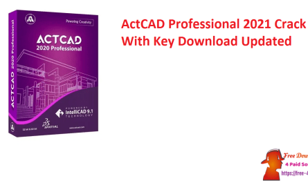 ActCAD Professional 2021 Crack With Key Download Updated