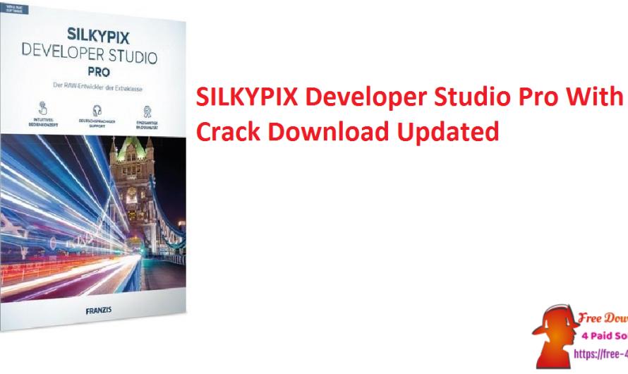 SILKYPIX Developer Studio Pro 10.0.10.0 With Crack Download [Updated]