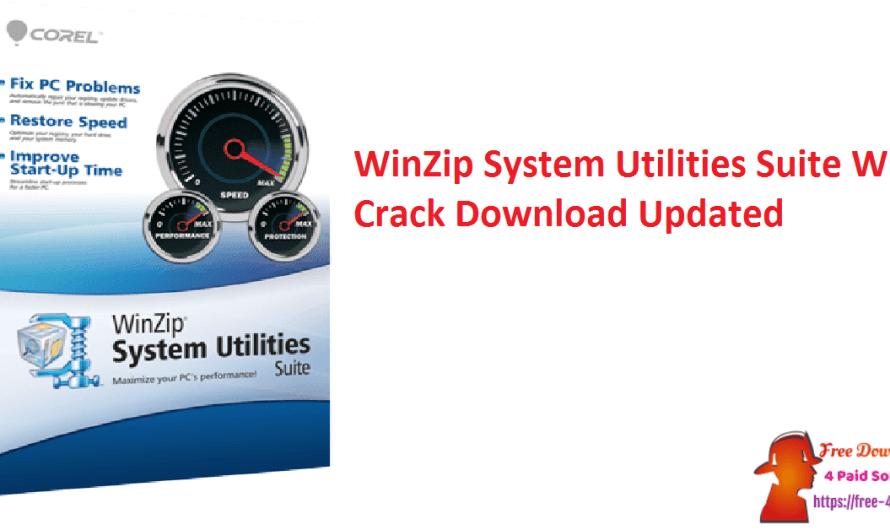 WinZip System Utilities Suite 3.14.2.8 With Crack Download [Updated]