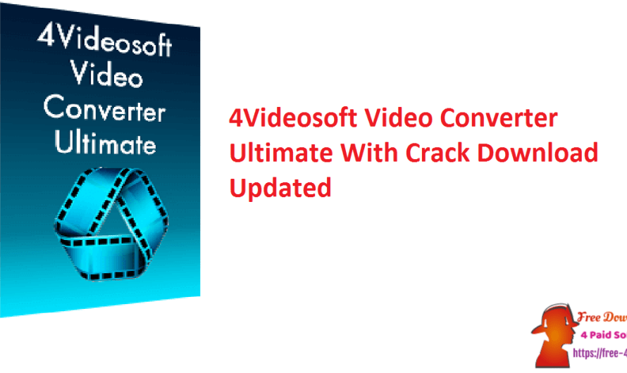 4Videosoft Video Converter Ultimate 9.1.26 With Crack Download [Updated]