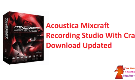 Acoustica Mixcraft Recording Studio With Crack Download Updated