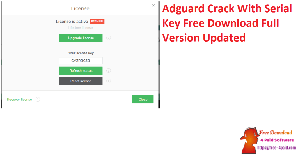 Adguard Crack With Serial Key Free Download Full Version Updated