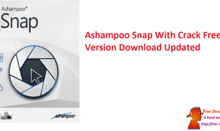 Ashampoo Snap With Crack Free Version Download Updated