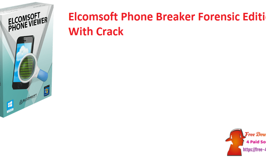 Elcomsoft Phone Breaker Forensic Edition 9.65.37980 With Crack