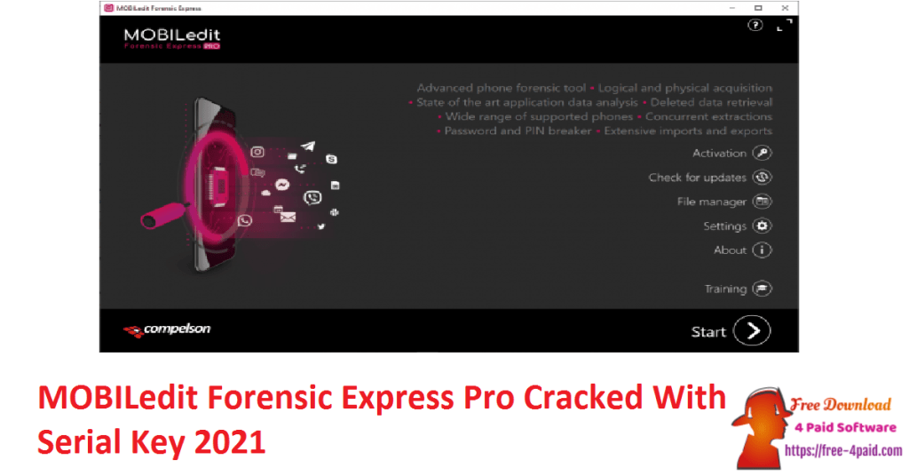 MOBILedit Forensic Express Pro Cracked With Serial Key 2021