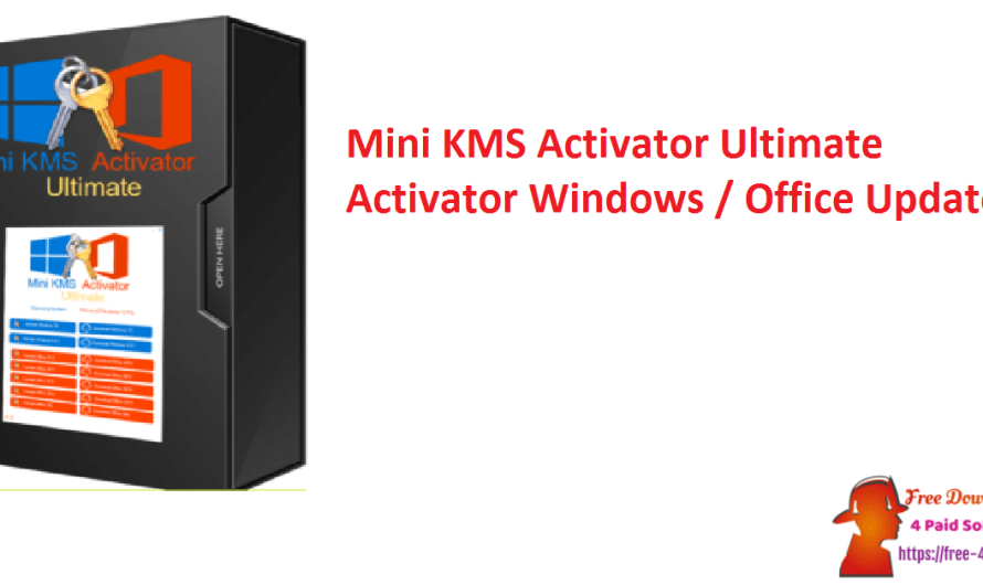 Mini KMS Activator Ultimate 2.8 Crack Activator [ Windows / Office ] [Updated]