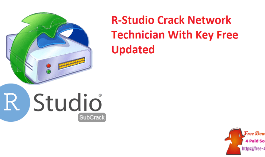 R-Studio 8.16 Crack Network Technician With Key Free [Updated]