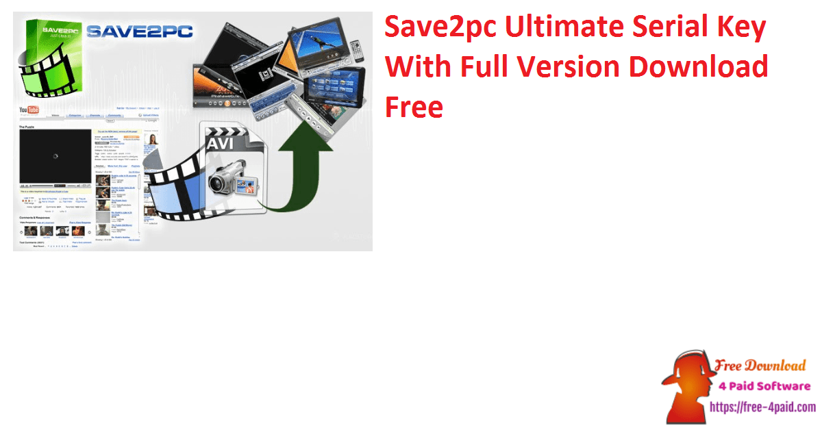 Save2pc Ultimate Serial Key With Full Version Download Free
