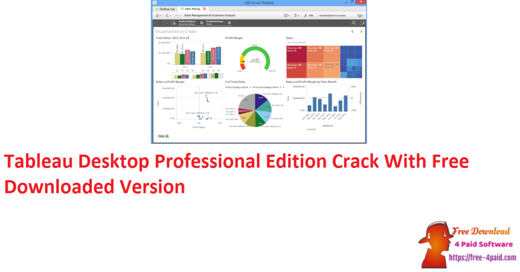 Tableau Desktop Professional Edition Crack With Free Downloaded Version