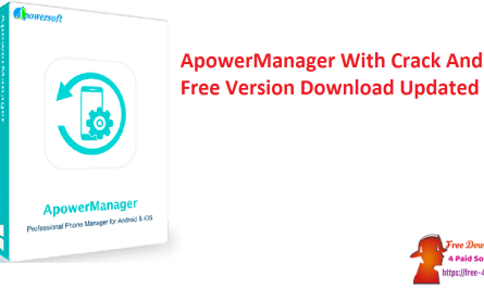 ApowerManager With Crack And Free Version Download Updated