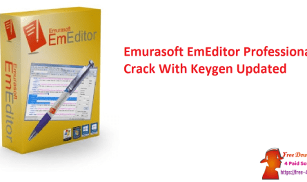 Emurasoft EmEditor Professional Crack With Keygen Updated