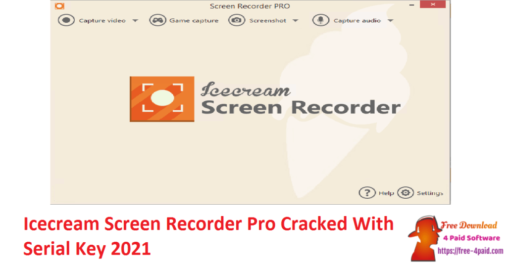 Icecream Screen Recorder Pro Cracked With Serial Key 2021