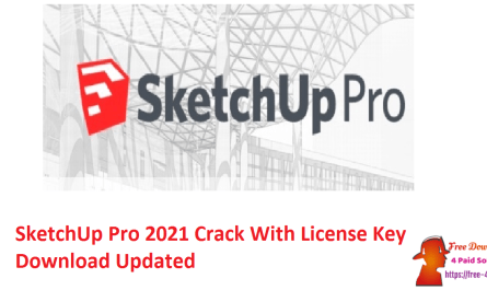 SketchUp Pro 2021 Crack With License Key Download Updated