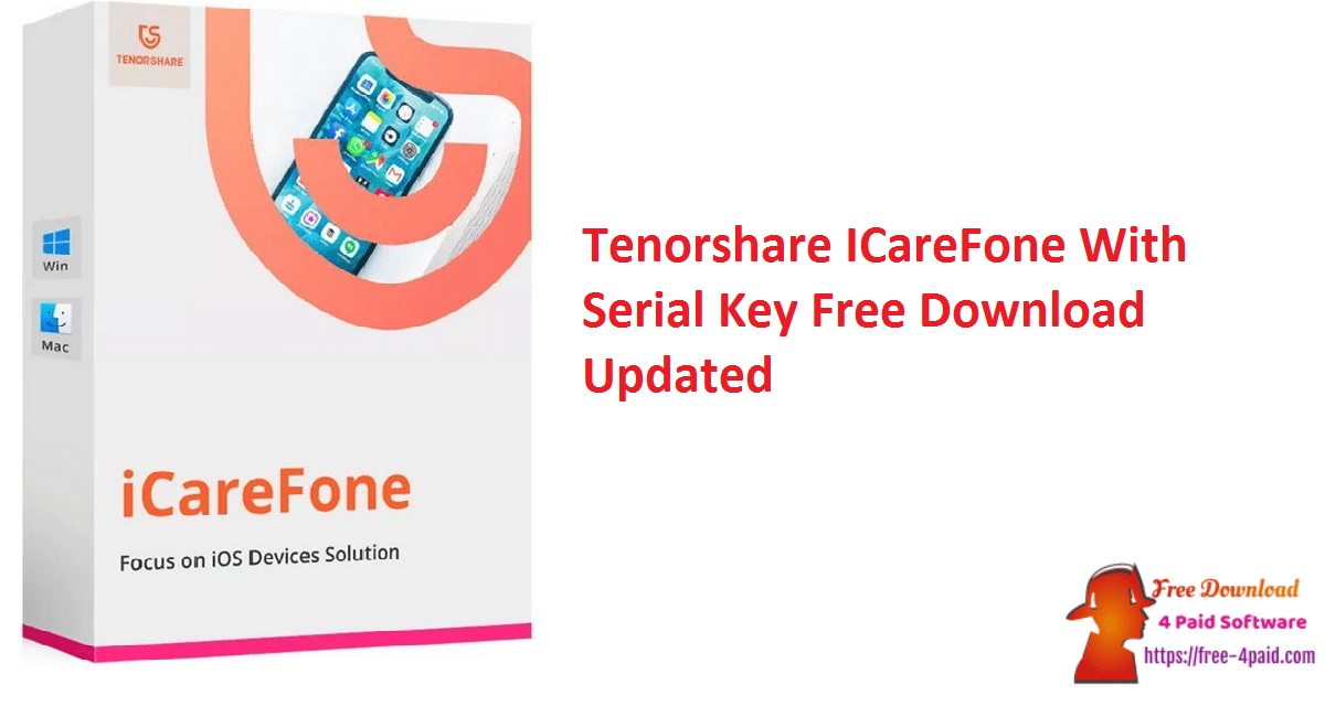 Tenorshare ICareFone With Serial Key Free Download Updated