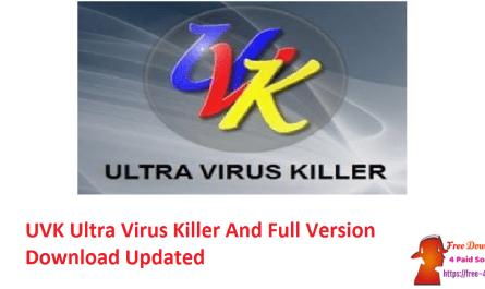 UVK Ultra Virus Killer And Full Version Download Updated