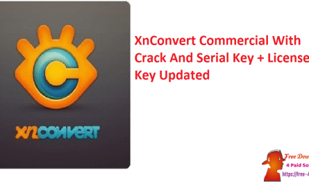 XnConvert Commercial With Crack And Serial Key + License Key Updated