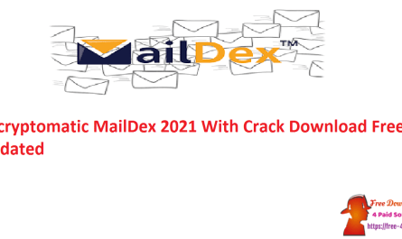Encryptomatic MailDex 2021 With Crack Download Free Updated