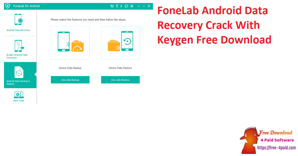 FoneLab Android Data Recovery Crack With Keygen Free Download