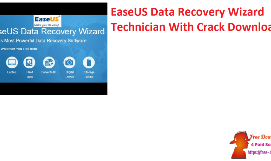 EaseUS Data Recovery Wizard Technician 14.5 With Crack Download