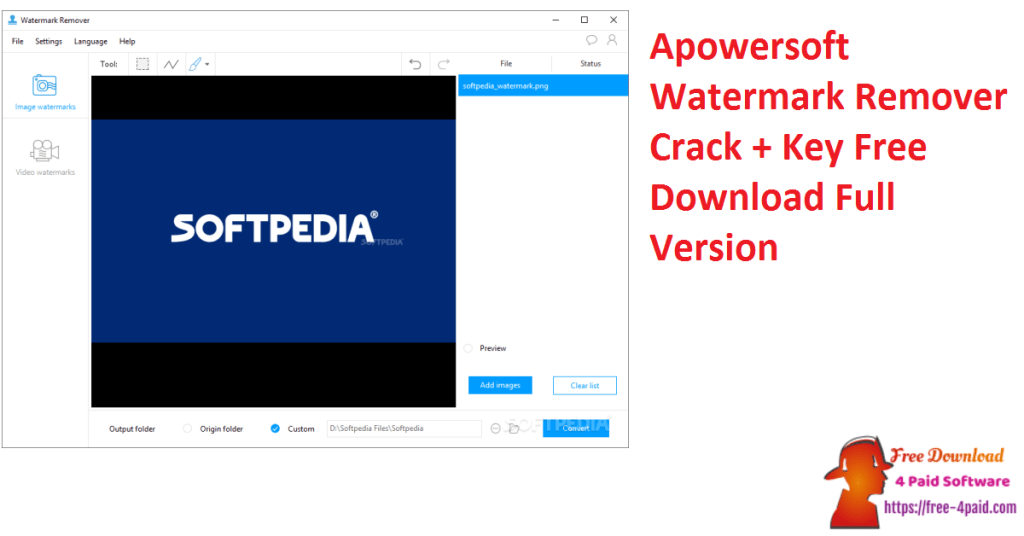 Apowersoft Watermark Remover Crack + Key Free Download Full Version