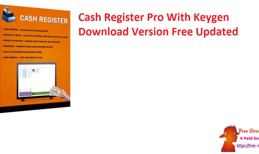 Cash Register Pro 2.0.6.5 With Crack Download Version Free [Updated]
