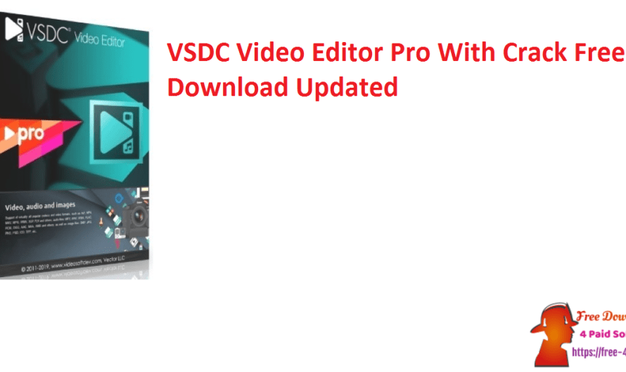 VSDC Video Editor Pro 6.7.2.295 With Crack Free Download [Updated]