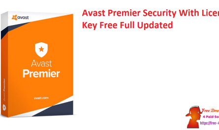 Avast Premier Security With License Key Free Full Updated