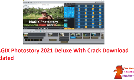 MAGIX Photostory 2021 Deluxe With Crack Download Updated