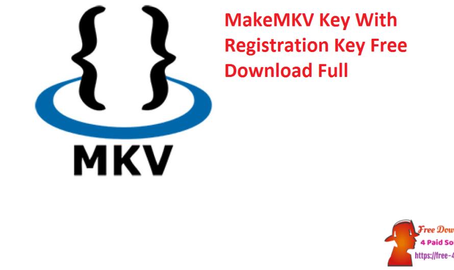 MakeMKV Key 1.16.4 Crack + Registration Key Free Download Full