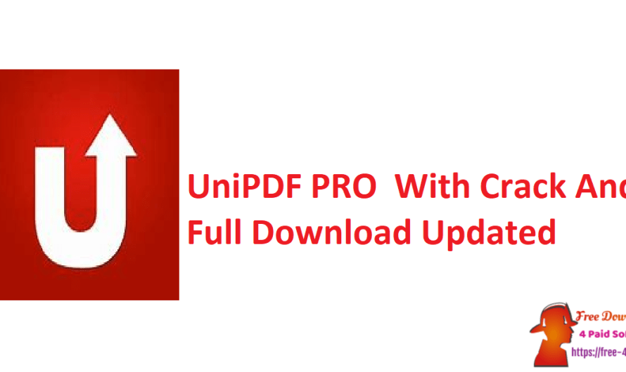 UniPDF PRO 1.3.3 With Crack And Full Download [Updated]