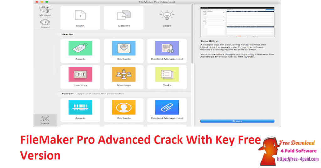 FileMaker Pro Advanced Crack With Key Free Version