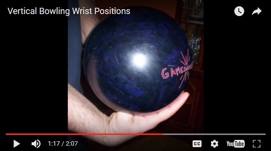 dupped bowling wrist position, bowling technique