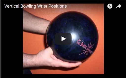 bowling hand positions, bowling release positions, bowling wrist position