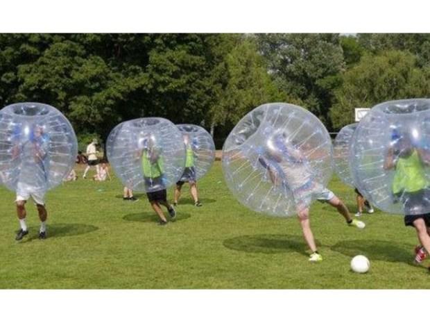 Bubble+Soccer+Rental