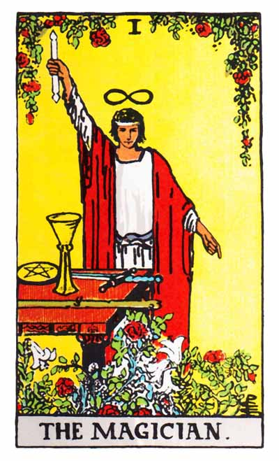 Tarot Magician Card