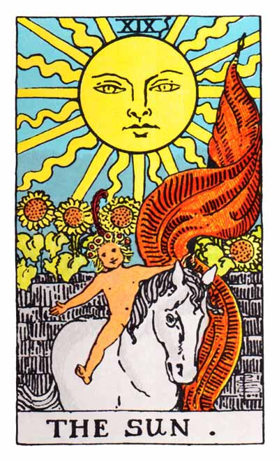 Tarot Sun Card