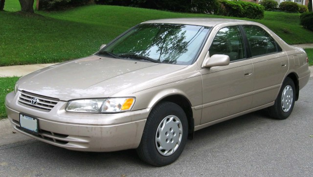 Toyota Camry one of the easiest cars to work on