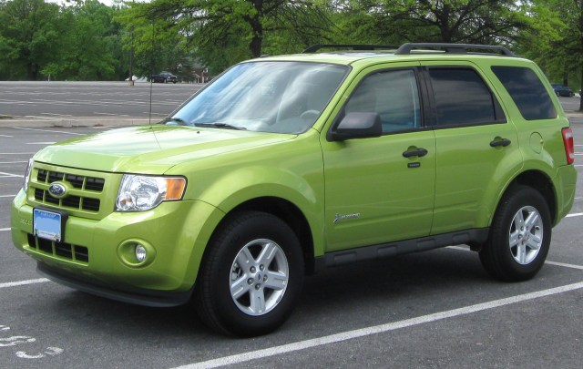Ford Escape Hybrid one of the easiest cars to work on