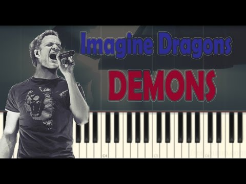 Imagine Dragons – Demons – Piano Tutorial (Slow)