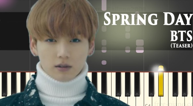 BTS – Spring Day – Piano Tutorial (Teaser)