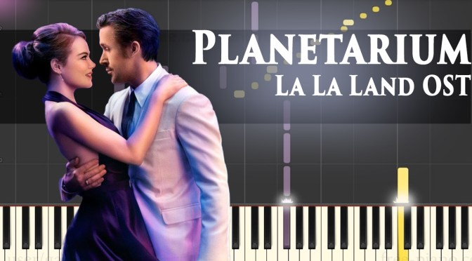 La La Land OST – Planetarium – Piano Tutorial