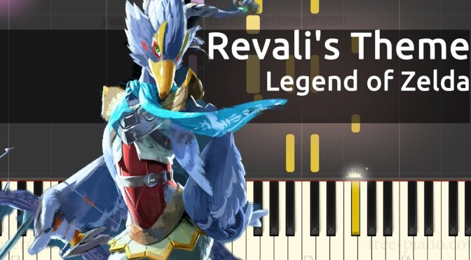 Legend of Zelda: Breath of the Wild – Revali's Theme – Piano Tutorial